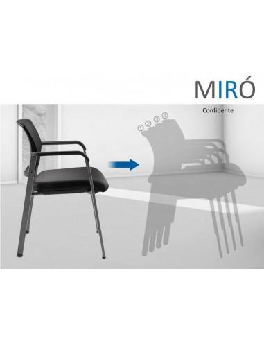 Silla Confidente Miró (2 Unidades)